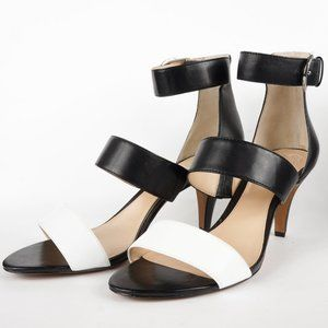 Vince Camuto Shoes - Vince Camuto Shoes Masen Leather MidHeel Sandal